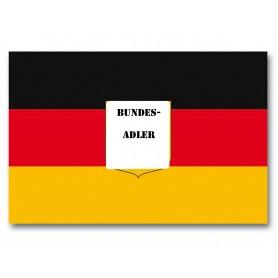 Flagge Deutschland mit Adler