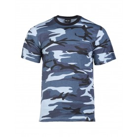 T-Shirt Tarn skyblue
