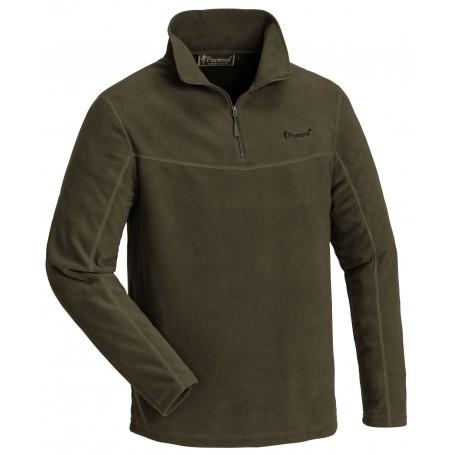 Pinewood® Tiveden Fleece Sweater Hunting Green