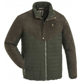 Pinewood® Edmonton Exclusiv Jacke Moosgreen/Suede Brown