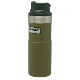 Stanley Classic Trigger-Action Travel Mug 473ml Reisebecher Olive Drab