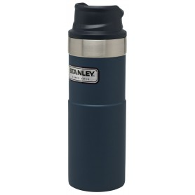 Stanley Classic Trigger-Action Travel Mug 473ml Reisebecher Nightfall Blue