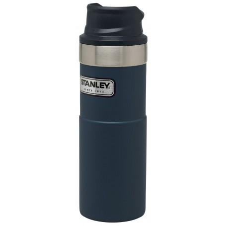 Stanley Classic Trigger-Action Travel Mug 473ml Reisebecher Nightfall Blue