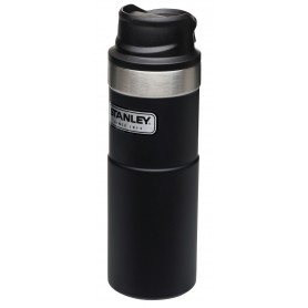 Stanley Classic Trigger-Action Travel Mug 473ml Reisebecher Matte Black