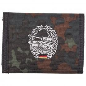 Bw Geldbeutel flecktarn - Panzertruppe