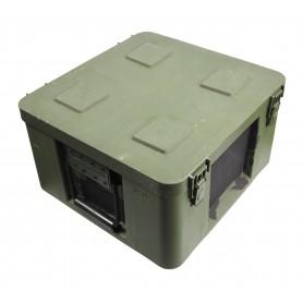 Munitionskiste Kunststoff 41x39x23, Werkzeugkiste, gebraucht