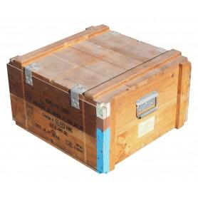 Munitionskiste Holz 62x58x36,5, gebraucht (Holzkiste)