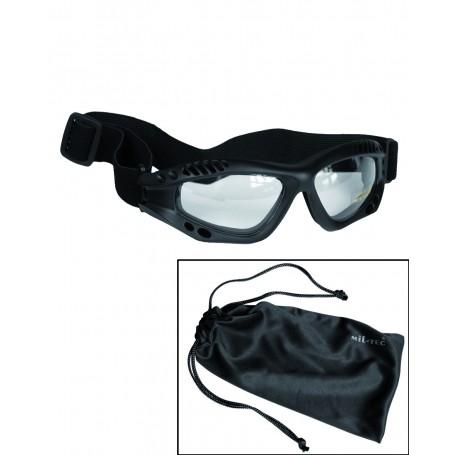 Mil-Tec Commando Schutzbrille Air Pro klar