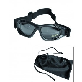 Mil-Tec Commando Schutzbrille Air Pro smoke