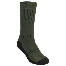 Pinewood® Drytex Middle Socken green/darkbrown