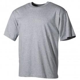 MFH US T-Shirt halbarm, grau