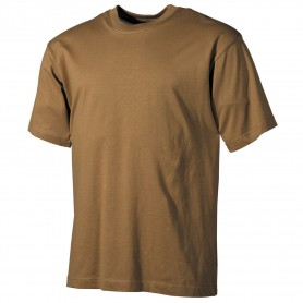 MFH US T-Shirt halbarm, coyote