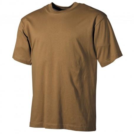 MFH US T-Shirt halbarm, coyote