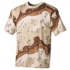 MFH US T-Shirt halbarm, 6 Farben-desert