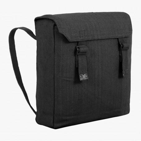 Highlander Web Backpack Segeltuch-Rucksack black