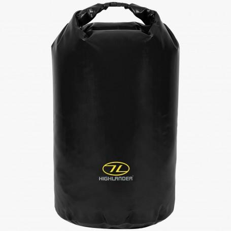 Highlander Tri Laminat PVC Dry Bag 44l Packsack schwarz