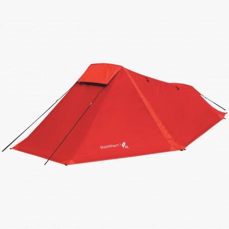 Highlander Blackthorn 1 XL Tent Einmannzelt rot