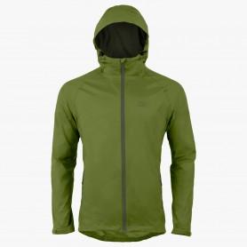 Highlander Stow & Go Waterproof Jacket Regenjacke grün