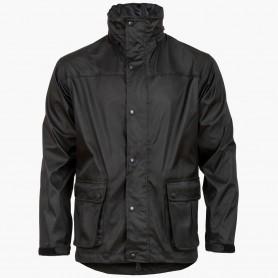 Highlander Tempest Rain Jacket Regenjacke schwarz
