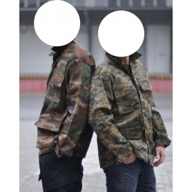 US Feldjacke Typ BDU digital woodland