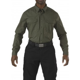 5.11 Stryke™ Shirt Long Sleeve Langarmhemd TDU green