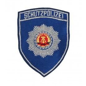 DDR Ärmelabzeichen Schutzpolizei, original