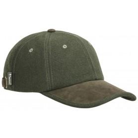 Pinewood® Edmonton Exclusiv Cap mossgreen/suede brown Basecap