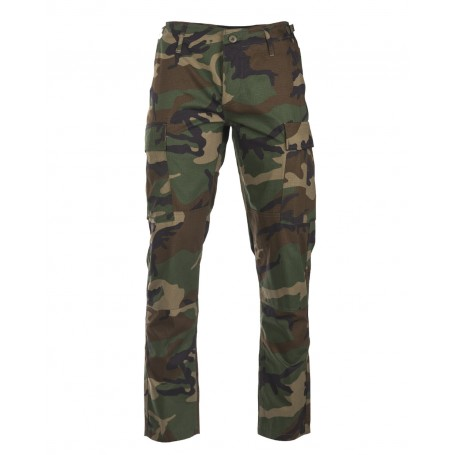 US BDU Feldhose Ripstop 'Slim Fit' woodland