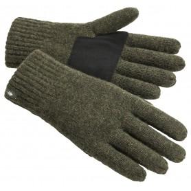 Pinewood® Strick Handschuh moosgrün