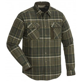Pinewood® Cornwall Flanell Hemd darkbrown
