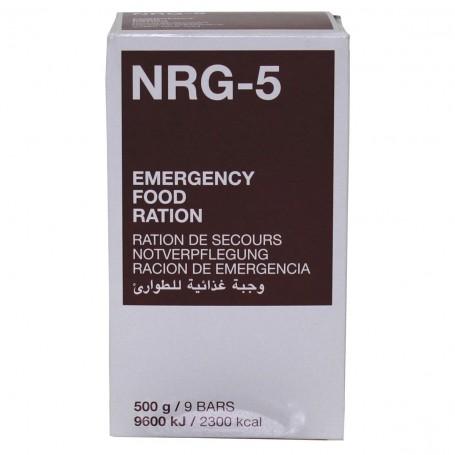 Notverpflegung NRG-5 9 Riegel 500g