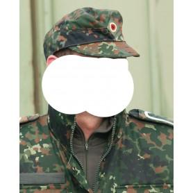 Bundeswehr Bw-Feldmütze flecktarn