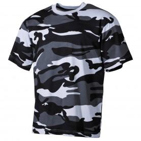 MFH US T-Shirt halbarm, skyblue