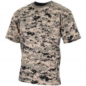 MFH US T-Shirt halbarm, digital urban