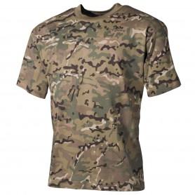 MFH US T-Shirt halbarm, operation-camo