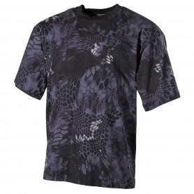 MFH US T-Shirt halbarm, snake-black