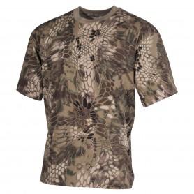 MFH US T-Shirt halbarm, snake-FG