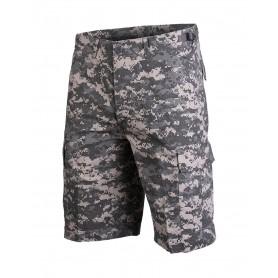 Mil-Tec® US Bermuda R/S CO Prewash AT-digital Shorts