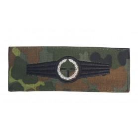 Bundeswehr Scharfschützenabzeichen Silber tarn auf flecktarn