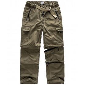Surplus Trekking Trousers oliv Zipperhose