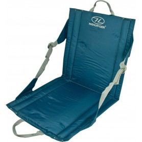 Highlander Outdoor Seat Sitzkissen blau und oliv