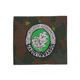 Bundeswehr Einzelkämpfer-Abzeichen EK2 Jagdkommando hell auf flecktarn