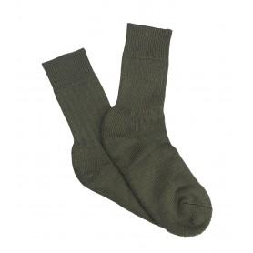 Hirsch Bw-Socke steingrau-oliv kurz