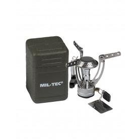 Mil-Tec® Gaskartuschenaufsatz Gaskocher Spider mit Behälter