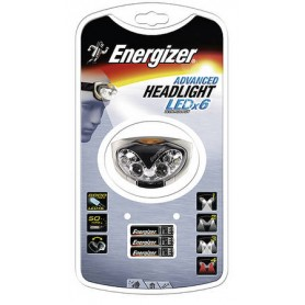 Energizer Stirnlampe Advanced Headlight LEDx6