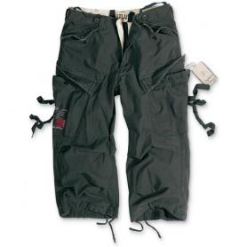 Surplus Engineer Vintage 3/4 Pants schwarz gewaschen