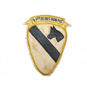 Abzeichen 41st Scout Dog Platoon 1st Cav. Div.