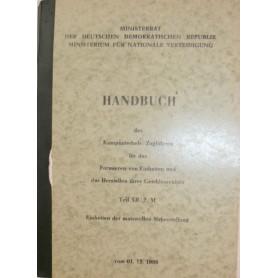 Handbuch Einheiten der materiellen Sicherstellung
