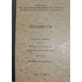 Handbuch Flakbatterie 23-2mm / Fla-Zug