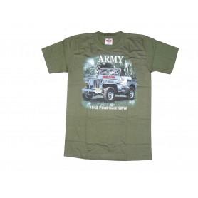 T-Shirt 1942 GPW Jeep oliv